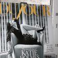 Katie Holmes à la soirée de lancement pour sa couverture du magazine DuJour édition automne 2014, à New York, le 16 septembre 2014.