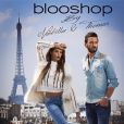 Nabilla et Thomas mannequins pour la campagne de la collaboration de Nabilla avec Blooshop