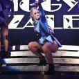 La rappeuse Iggy Azelea en concert au Shepherds Bush Empire. Londres, le 17 septembre 2014.