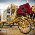 Photo du carrosse utilisé pour le Prinsjesdag, le troisième jeudi du mois de septembre, par le roi Willem-Alexander des Pays-Bas et son épouse la reine Maxima pour l'inauguration de l'année parlementaire, à La Haye.