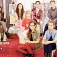 L'équipe de Jenifer, dans The Voice Kids le samedi 13 septembre 2014.