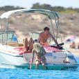 James Blunt et Sofia Wellesley passent quelques jours de vacances à Ibiza le 11 septembre 2014