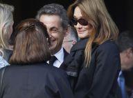 Nicolas Sarkozy : Carla Bruni à ses côtés pour ses adieux à un ancien proche