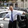 Patrick Ollier - Cérémonie en l'honneur de l'ancien préfet Christian Frémont, qui fut le directeur de cabinet de Nicolas Sarkozy à l'Elysée, en l'église Saint-François-Xavier à Paris, le 24 septembre 2014.