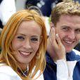 Cora et Ralf Schumacher à Melbourne le 28 février 2002.