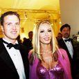 Ralf Schumacher et sa femme Cora à Hofbourg le 25 novembre 2002.