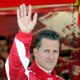 Michael Schumacher à Indianapolis, le 17 juin 2005.