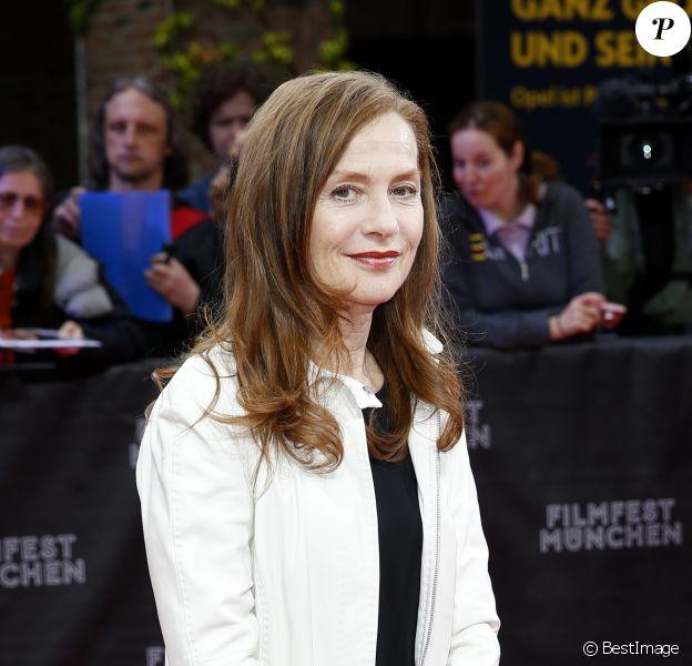 Isabelle Huppert assiste au festival du film de Munich le 2 juillet 2014