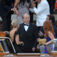 Bill Murray part du Cipriani.  Mariage de George Clooney et Amal Alamuddin à l'Aman Canal Grande Venice à Venise, le 27 septembre 2014.