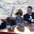 Anna Wintour. Mariage de George Clooney et Amal Alamuddin, célébré à l'Aman Canal Grande Venice à Venise, le 27 septembre 2014.