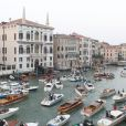 Mariage de George Clooney et Amal Alamuddin, célébré à l'Aman Canal Grande Venice à Venise, le 27 septembre 2014.
