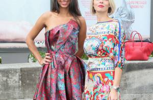 Flora Coquerel et Sylvie Tellier: Looks glamour et colorés face à Frédérique Bel