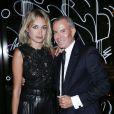 Pauline Lefèvre et Jean-Claude Jitrois assistent à la soirée J'aime la Mode organisée par l'ESMOD Paris au Mandarin Oriental. Paris, le 29 septembre 2014.