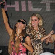 Paris et Nicky Hilton survoltées avec Alexandra Lamy et Justin Bieber