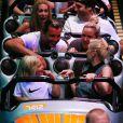 Gwen Stefani, Gavin Rossdale et leur fils Zuma s'amusent à Disneyland à Anaheim, le 6 octobre 2014.