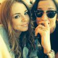 Sara, candidate de Secret Story 8 et Aurore sont amoureuses et l'assument au grand jour. Septembre 2014.