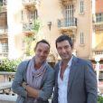 """Gregory Questel, Franck Simonin - 3ème festival """"Les Heros de la Tele"""" à Beausoleil le 11 octobre 2014"""