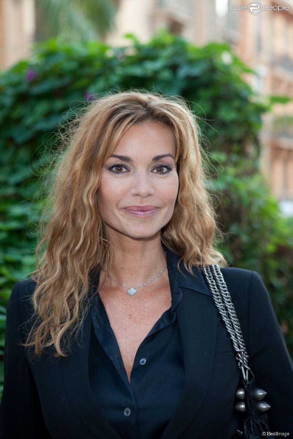 """Ingrid Chauvin - 3ème festival """"Les Heros de la Tele"""" à Beausoleil le 11 octobre 2014."""