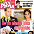 Magazine Ici Paris, en kiosques le 15 octobre 2014.