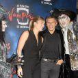 Nagui et sa femme Mélanie Page - Générale de la comédie musicale Le Bal des Vampires, au théâtre Mogador à Paris, le 16 octobre 2014