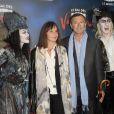 Christophe Malavoy et sa femme Isabelle - Générale de la comédie musicale Le Bal des Vampires, au théâtre Mogador à Paris, le 16 octobre 2014