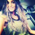 La chanteuse Pauline, photo publiée sur son compte Instagram le 22 juillet 2014