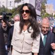 Amal Alamuddin Clooney à Athènes en Grèce, le 15 octobre 2014.