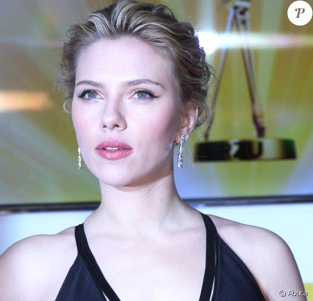 Scarlett Johansson à Berlin, le4 février 2012.