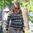Rachel Bilson, enceinte, fait du shopping chez Bed Bath & Beyond à Studio City, le 10 octobre 2014.