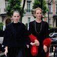 Maya Hawke et Uma Thurman à Paris, le 5 juillet 2014.
