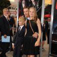Ethan Hawke, son fils Roan Thurman-Hawke et sa fille Maya Thurman-Hawke à Los Angeles, le 26 août 2013.