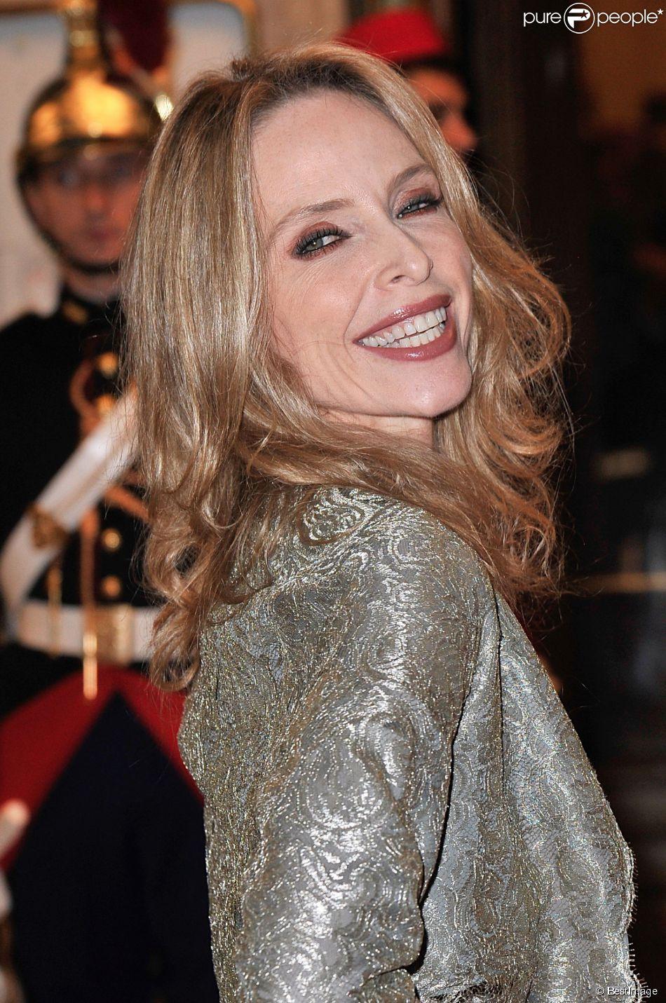 Tonya Kinzinger - Gala de l'Espoir au théâtre des Champs-Elysées à Paris, le 23 octobre 2014.