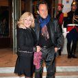 Nicoletta et son mari Jean-Christophe Molinier - Gala de l'Espoir au théâtre des Champs-Elysées à Paris, le 23 octobre 2014.