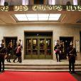 Ambiance - Gala de l'Espoir au théâtre des Champs-Elysées à Paris, le 23 octobre 2014