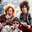 Le trio Cream, avec Eric Clapton, Jack Bruce et Ginger Baker.