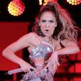 """Jennifer Lopez a donné un concert lors du festival """"We Can Survive"""" lors du Hollywood Bowl à Los Angeles. Le 24 octobre 2014"""