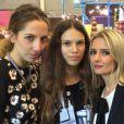 Exclusif : Leslie Levy, Ilana Hansen et Marie Inbona au salon du Chocolat le 28 octobre 2014.