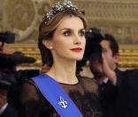 Letizia d'Espagne: Transparence et rouge à lèvres, divine pour Michelle Bachelet