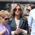 """Exclusif  - Sandra Bullock sur le tournage du film """"Our Brand is Crisis"""" à la Nouvelle-Orléans, le 22 septembre 2014."""