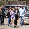 """Exclusif - Sandra Bullock sur le tournage de son film """"Our Brand is Crisis"""" à la Nouvelle-Orléans, le 22 septembre 2014."""