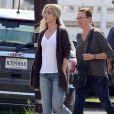 """Exclusif - L'actrice Sandra Bullock sur le tournage du film """"Our Brand is Crisis"""" à la Nouvelle-Orléans, le 22 septembre 2014."""