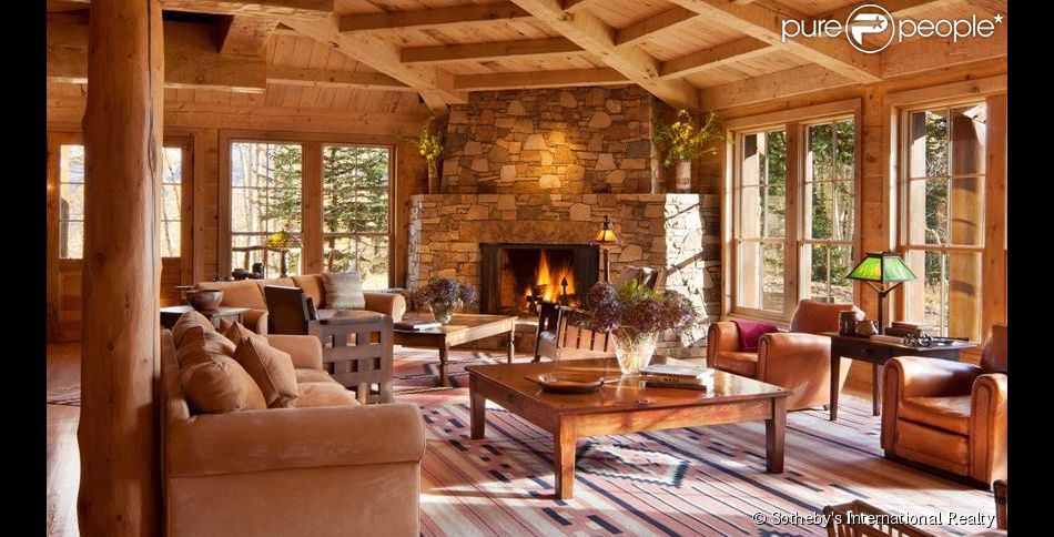 Tom cruise 20 ans apr s il met sa superbe villa en for La casa di montagna progetta il colorado