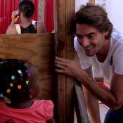 Camille Lacourt, papa et ambassadeur généreux : Son 'émouvant' voyage en Haïti