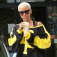 Amber Rose dans les rues de Studio City, le 4 septembre 2014.