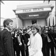 Marlène Jobert et son mari Walter Green au festival de Cannes 1978