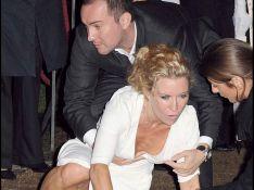PHOTOS :  Quand Meg Matthews ex Madame Gallagher se prend un... vrai gadin !