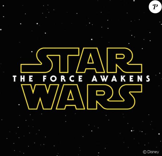 Le logo de l'épisode VII de la saga Star Wars prévu pour 2015
