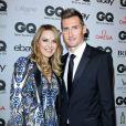 """Miroslav Klose et sa femme Sylwia lors de la soirée de gala """"GQ Men of the Year Award"""" à Berlin en Allemagne le 6 novembre 2014."""