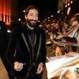 """Adrien Brody lors de la soirée de gala """"GQ Men of the Year Award"""" à Berlin en Allemagne le 6 novembre 2014."""