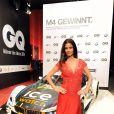 """Shermine Shahrivar lors de la soirée de gala """"GQ Men of the Year Award"""" à Berlin en Allemagne le 6 novembre 2014."""